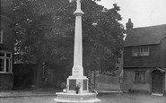 Bletchingley, War Memorial 1921