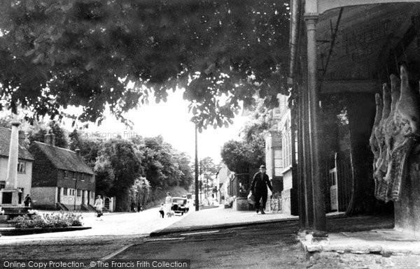 Bletchingley, War Memorial Corner c.1935