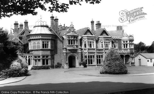 Bletchley, Bletchley Park, The Mansion c.1960