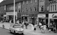 Bletchley, Bletchley Road, Shoppers 1961