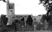 Bletchley, St Mary's Church c1960
