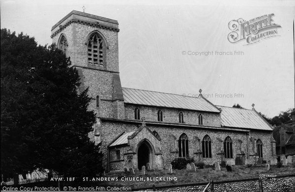 Blickling, St Andrew's Church c.1955