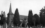 Blindley Heath, Church Of St John The Evangelist c.1955