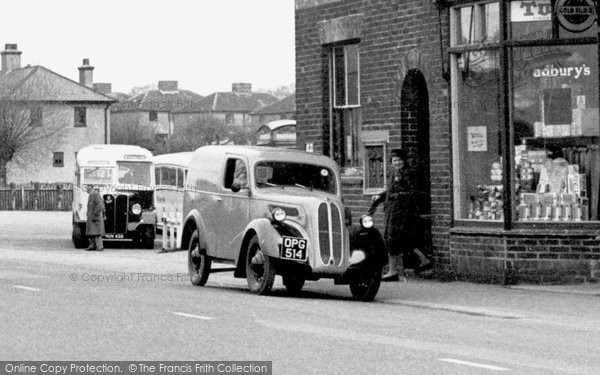 Blindley Heath, Ford 10 Van c.1955