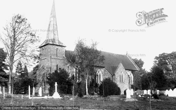 Blindley Heath, St John The Evangelist's Church 1908