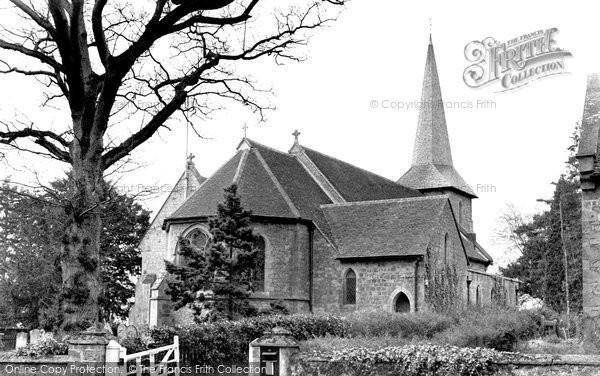 Blindley Heath, St John The Evangellist's Church c.1955