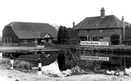 Blindley Heath, the Red Barn c1955