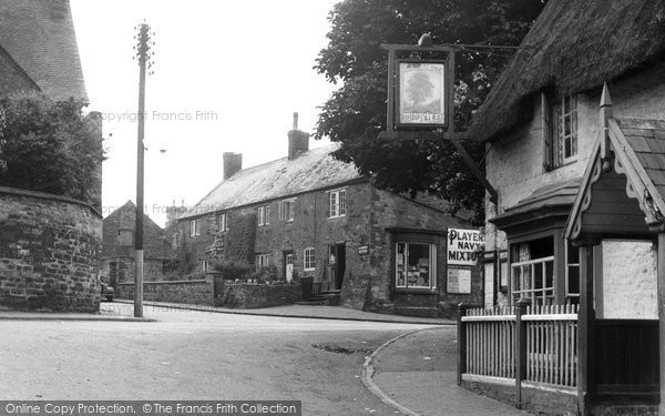 Blisworth, Post Office Corner c.1955