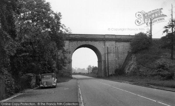 Blisworth, Robert Stephenson's Railway Bridge c.1955