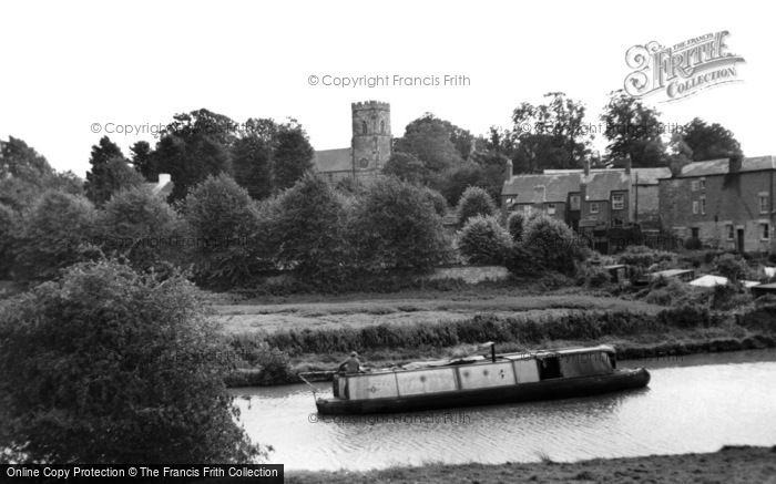 Blisworth, The Grand Union Canal c.1965