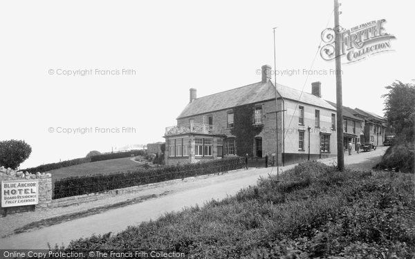 Blue Anchor, Hotel 1936