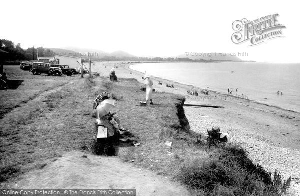 Blue Anchor, The Beach 1935