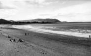 Blue Anchor, The Beach c.1955
