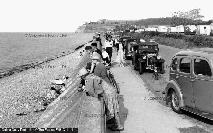 Blue Anchor, The Beach c.1955