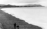 Blue Anchor, The Beach c.1960