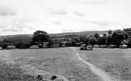 Blue Anchor, The Caravan Camp c.1955