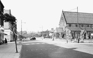 Blundellsands, Bridge Road And St Nicholas' Church c.1960