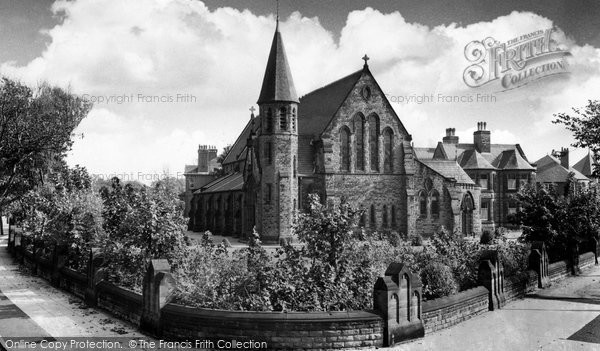 Blundellsands, St Joseph's Roman Catholic Church c.1960