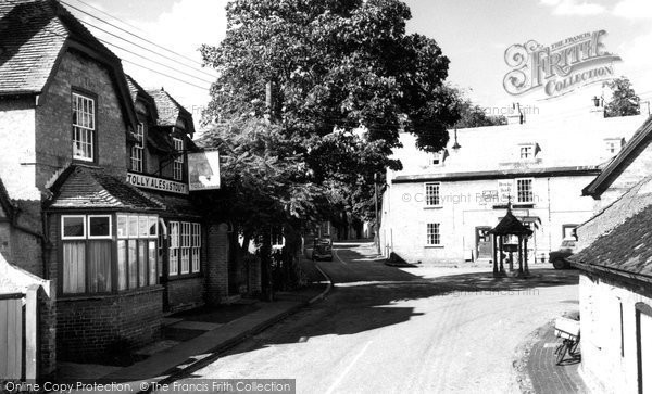 Bluntisham, High Street c.1955