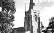 Bluntisham, St Mary's Church c.1955