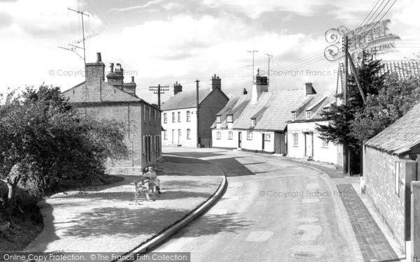 Bluntisham, Wood End c.1955