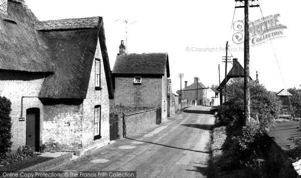 Bluntisham, Wood End c.1955