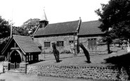 Blurton, St Bartholomew Church c1955