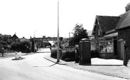 Blurton, the Old Road c1960