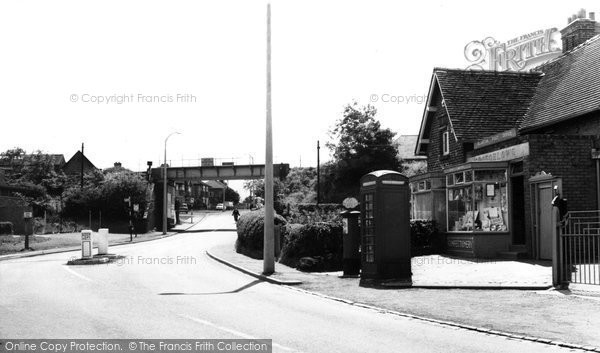 Photo of Blurton, the Old Road c1960