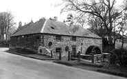 Blyth Bridge, The Old Mill c.1955