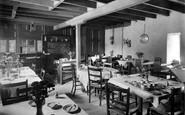 Blyth Bridge, The Tea Room, Old Mill Road House c.1955