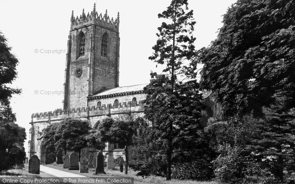 Blyth, Church Of St Mary And St Mark (11th Century) c.1955