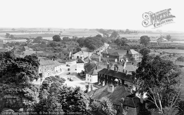 Blyth, From The Church Tower c.1955