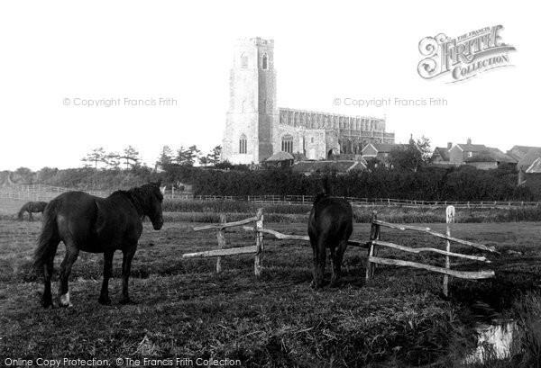 Blythburgh, Church Of The Holy Trinity 1895
