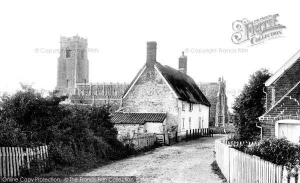 Blythburgh, Church Of The Holy Trinity And Village 1895