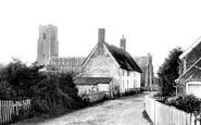 Blythburgh, Church Of The Holy Trinity And Village 1895