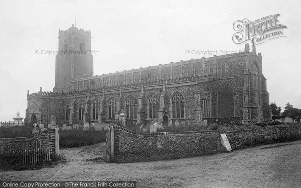 Blythburgh, Holy Trinity Church 1891