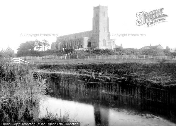 Blythburgh, Holy Trinity Church 1895