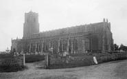 Blythburgh, The Church Of The Holy Trinity 1891