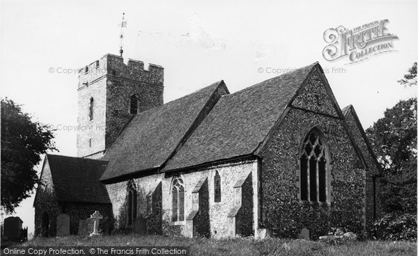 Bobbing, Church c.1960