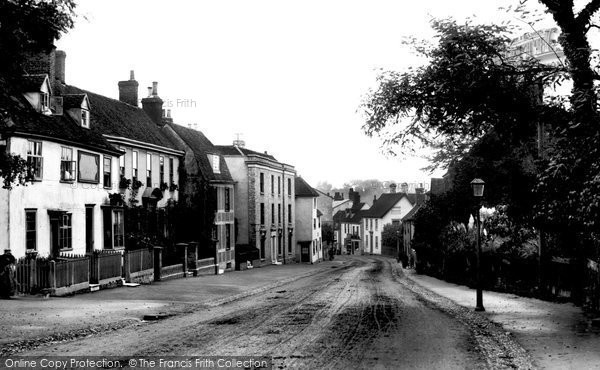 Photo of Bocking, Bradford Street 1900