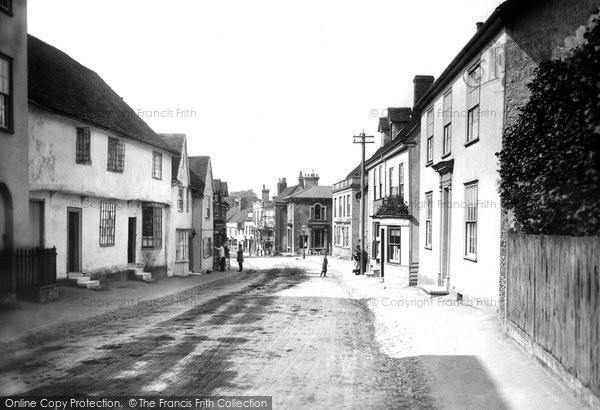 Bocking, Bradford Street 1902