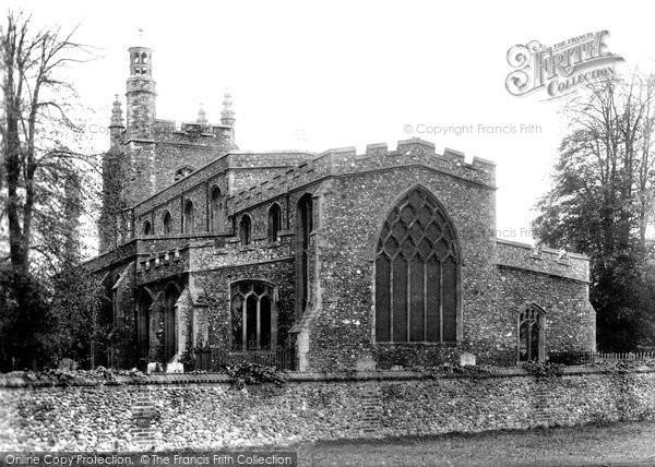 Bocking, St Mary's Church 1900