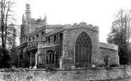 Bocking, St Mary's Church 1900