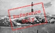 Boddam, Lighthouse c.1955