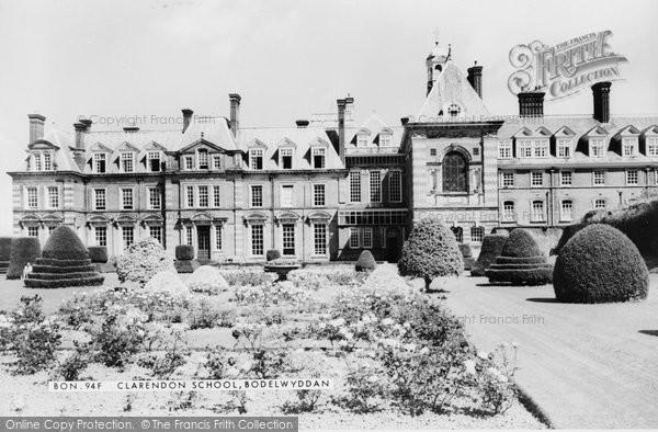 Bodelwyddan, Clarendon School c.1955