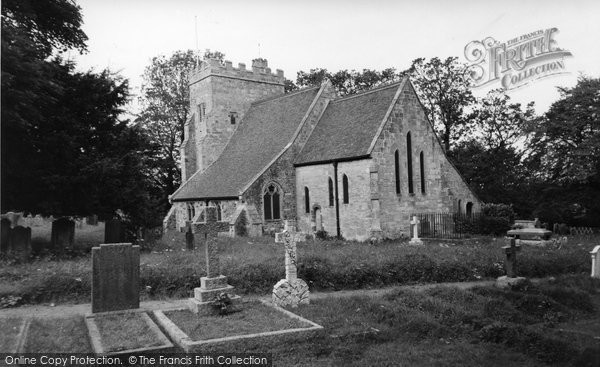 Bodiam, St Giles Church c.1960