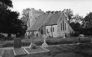 Bodiam, St Giles Church c.1960