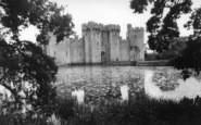 Bodiam, The Castle c.1960