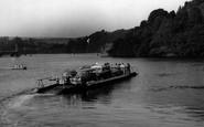 Bodinnick, Ferry c.1955